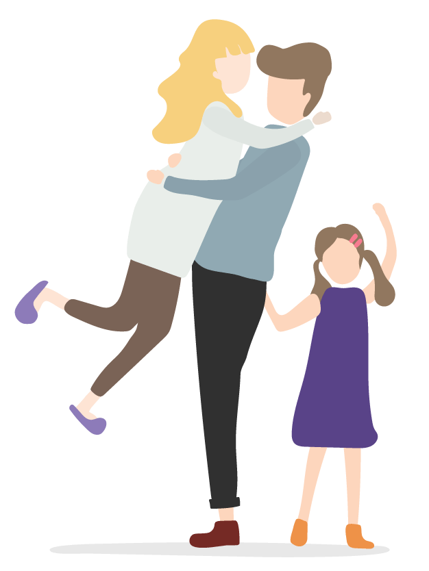 Family illustration for Focus Business Partners Accountants & Advisors